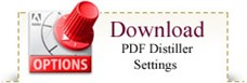 Download PDF Distiller Settings